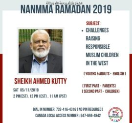 Challenges Raising Responsible Muslim Children in the West